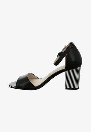 LETIZIA - Sandalen met enkelbandjes - schwarz