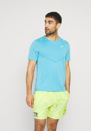 RISE - T-shirts print - chlorine blue