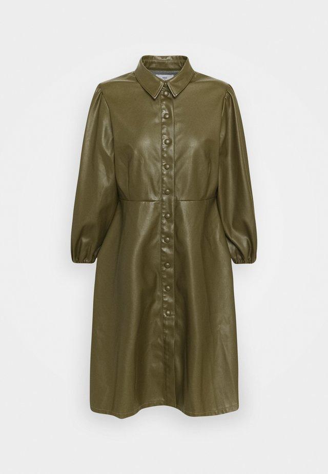 BAHIRA SHORT DRESS - Korte jurk - dark green