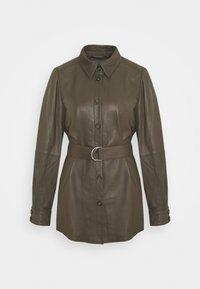 Culture - CUBENJA - Leather jacket - tarmac - 0