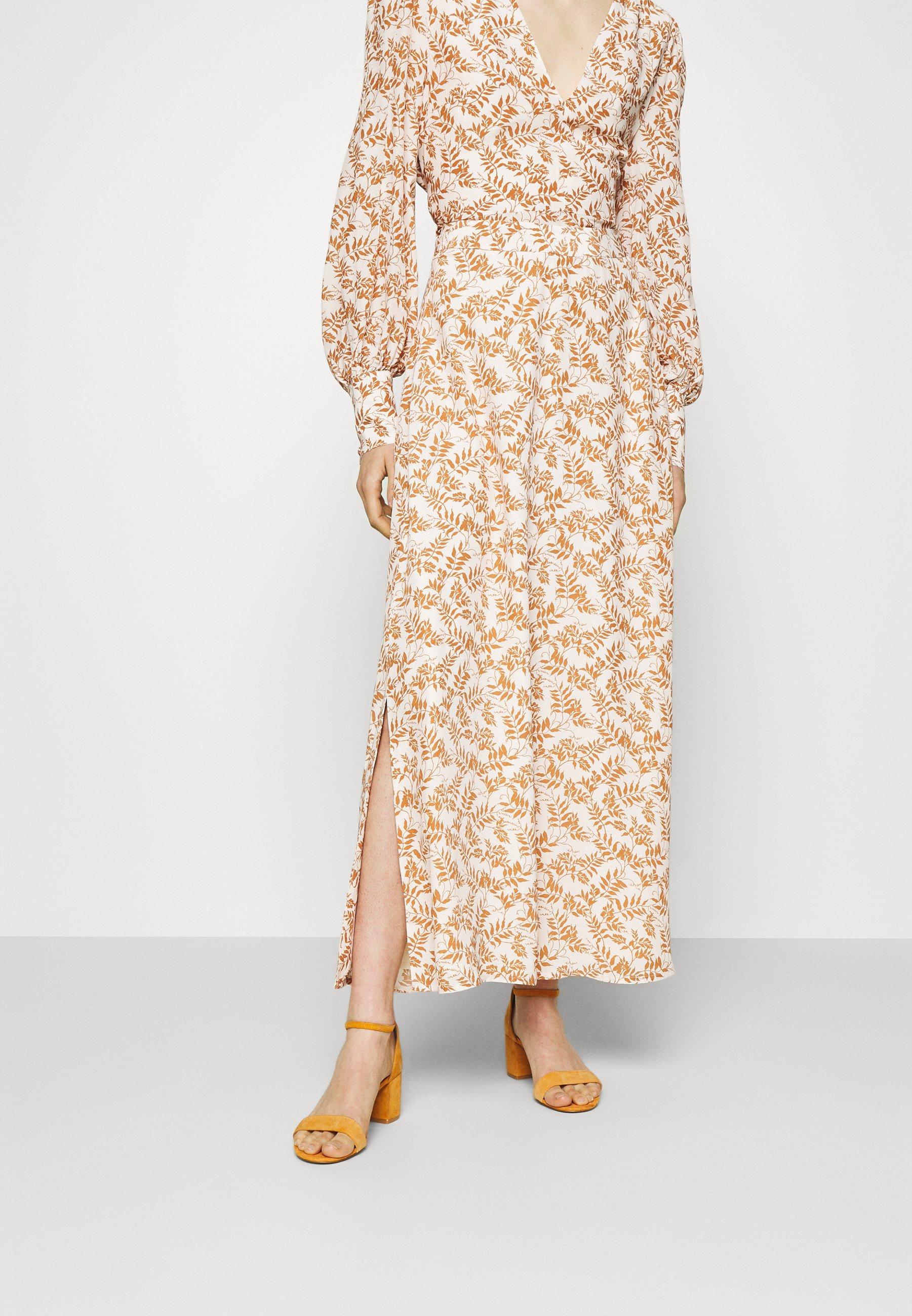 Women NOCCIOLO - Maxi skirt - snow white