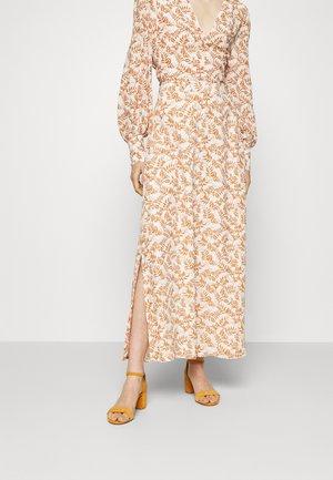 NOCCIOLO - Maxi skirt - snow white