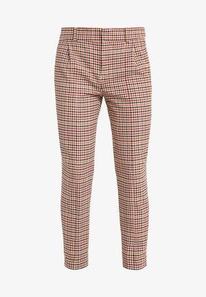 LOAD - Trousers - orange check