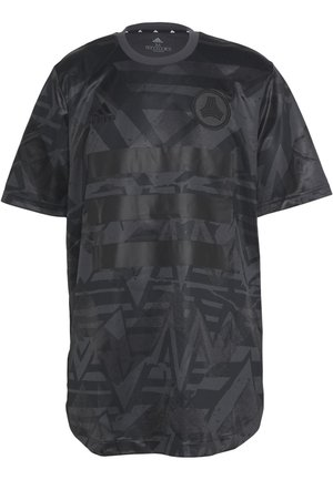 TAN - T-shirt con stampa - carbon/black