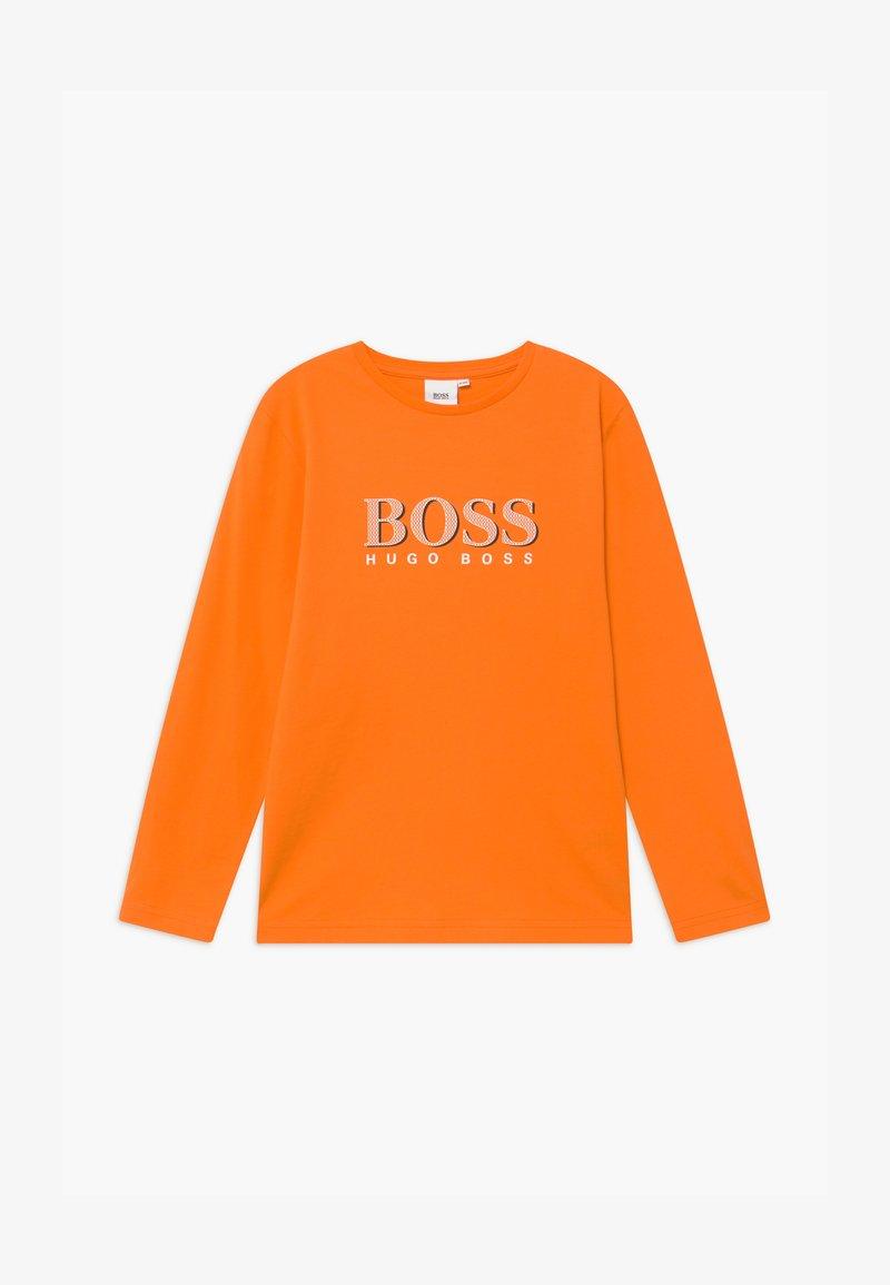 BOSS Kidswear - LONG SLEEVE  - Top sdlouhým rukávem - orange