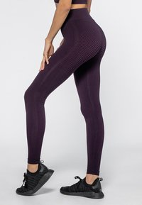 Heart and Soul - Collant - black/plum - 3