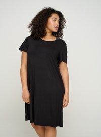 Zizzi - VFREJA DRESS - Jersey dress - black - 0