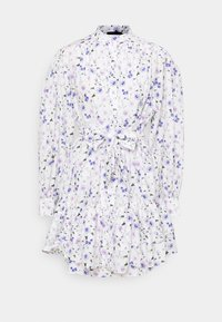 The Kooples - DRESS - Shirt dress - ecru/lavender - 0