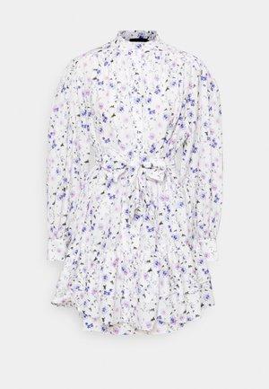 DRESS - Paitamekko - ecru/lavender