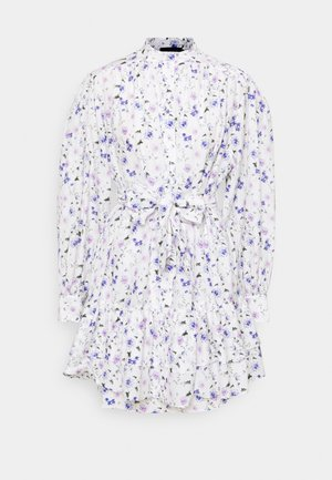 DRESS - Košilové šaty - ecru/lavender