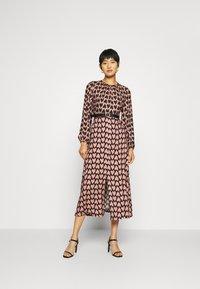 Closet - CLOSET PUFF SLEEVE DRESS - Day dress - pink - 1