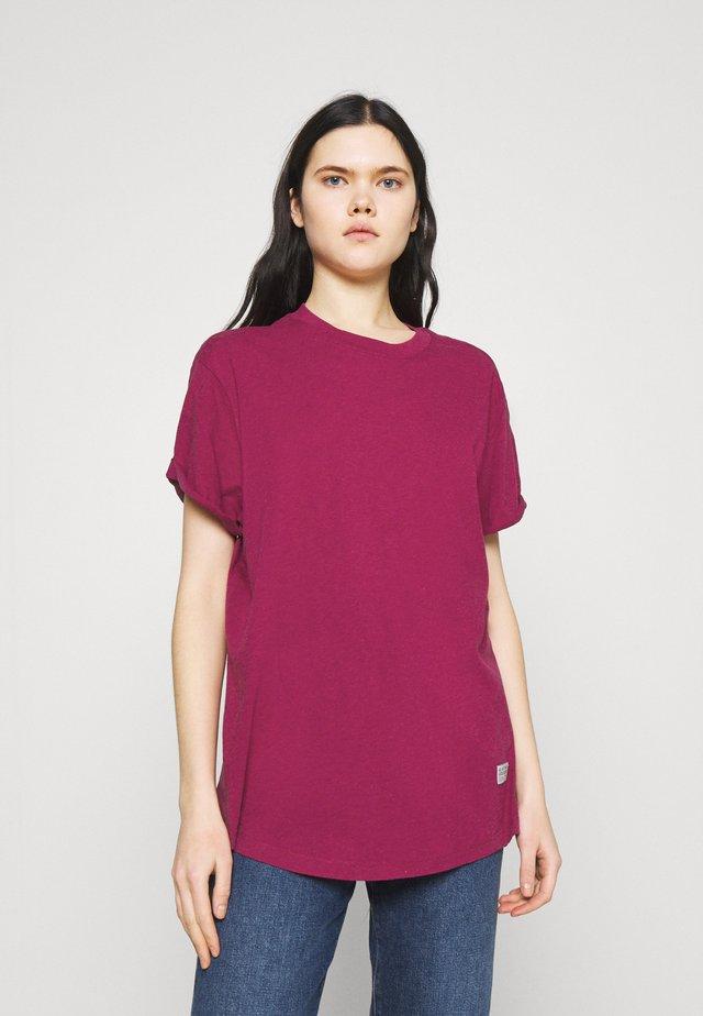 LASH FEM LOOSE - Basic T-shirt - dark finch heather