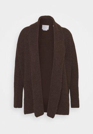 Cardigan - mocca brown