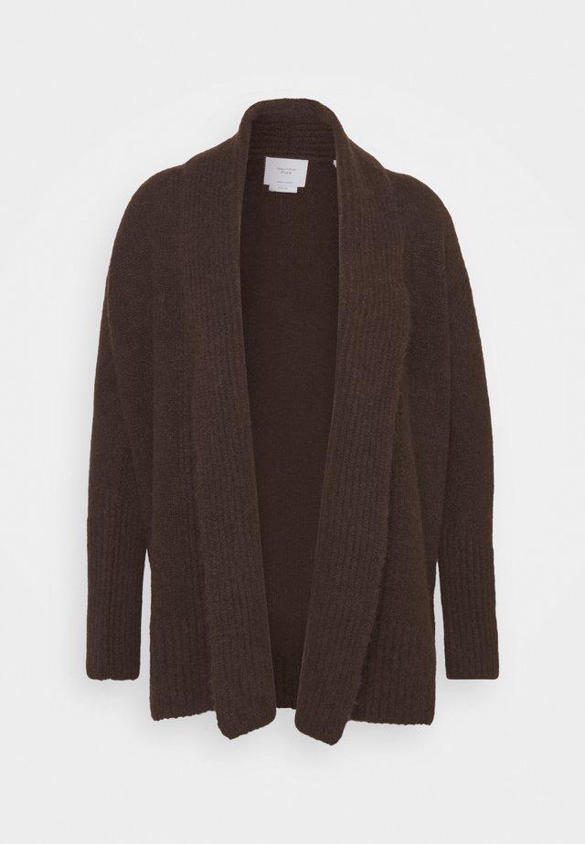 Vest - mocca brown