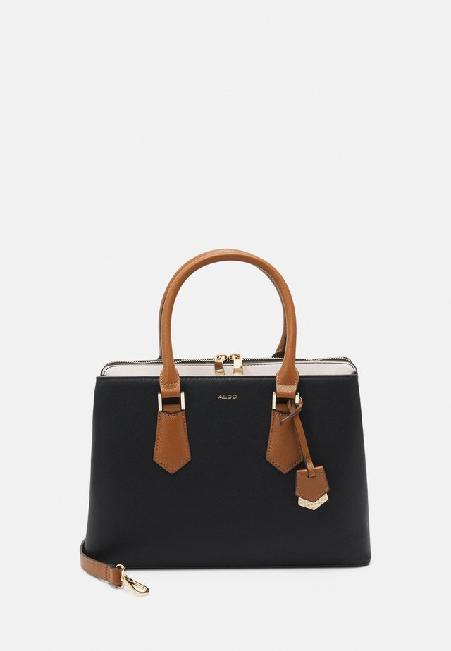 BOZEMANI - Sac à main - black/bone/tan