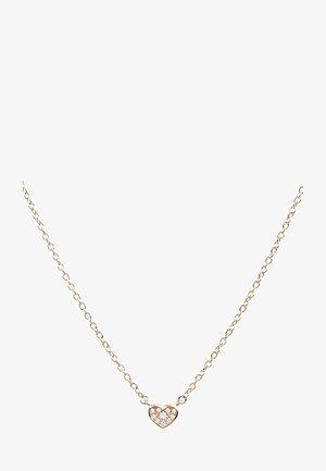 MIT ZIRKONIA-ANHÄNGER - Necklace - rose gold-coloured