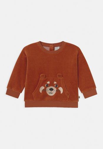 FACE UNISEX - Sweatshirt - dark dusty orange