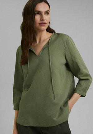 Blouse - light khaki