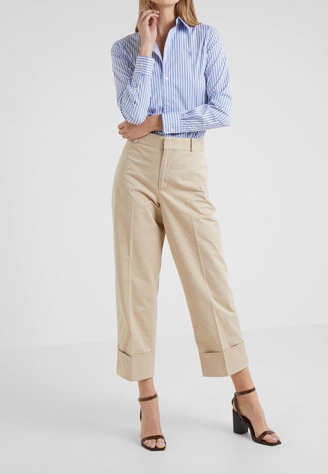 PIECE DYED - Pantaloni - classic tan