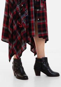 Desigual - ALASKA MANDALA - Classic ankle boots - black - 0