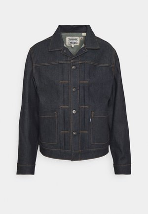 TYPE II WORN TRUCKER UNISEX - Denim jacket - crisp moj