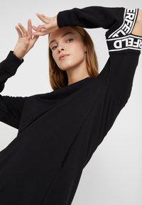 KARL LAGERFELD - CUT OUT SLEEVE DRESS - Day dress - black - 3