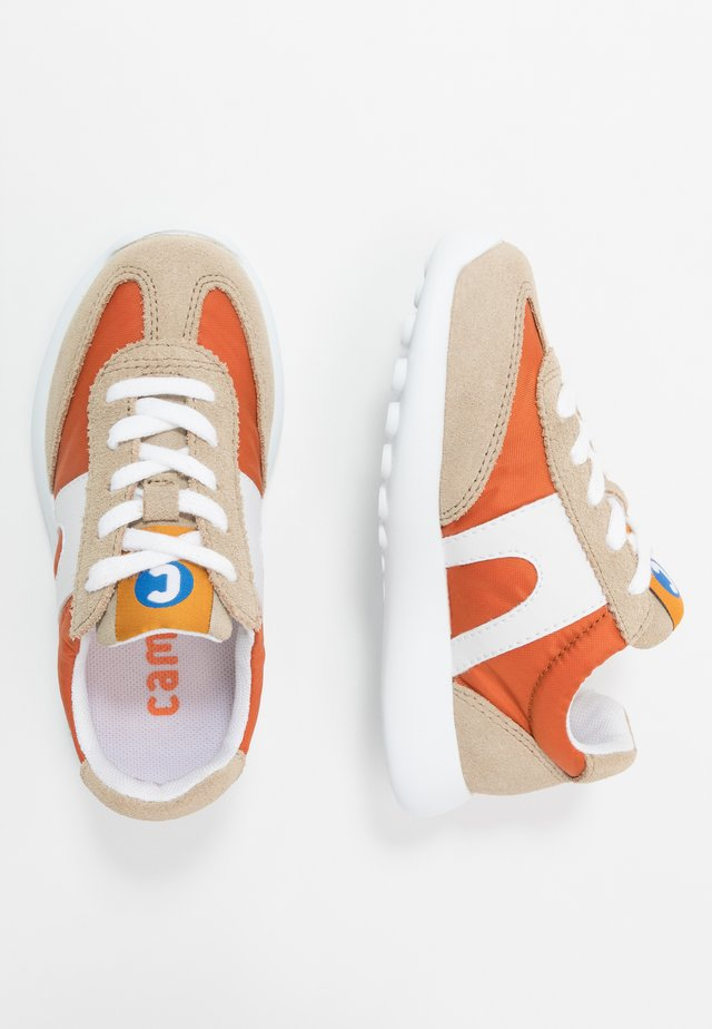 DRIFTIE - Sneaker low - beige/orange