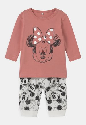 MICKEY SET - Trousers - rose tan