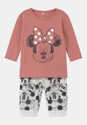 MICKEY SET - Pantaloni - rose tan