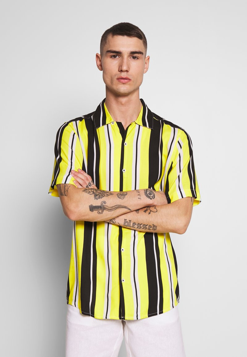 Only & Sons - ONSCARTER STRIPED - Chemise - blazing yellow