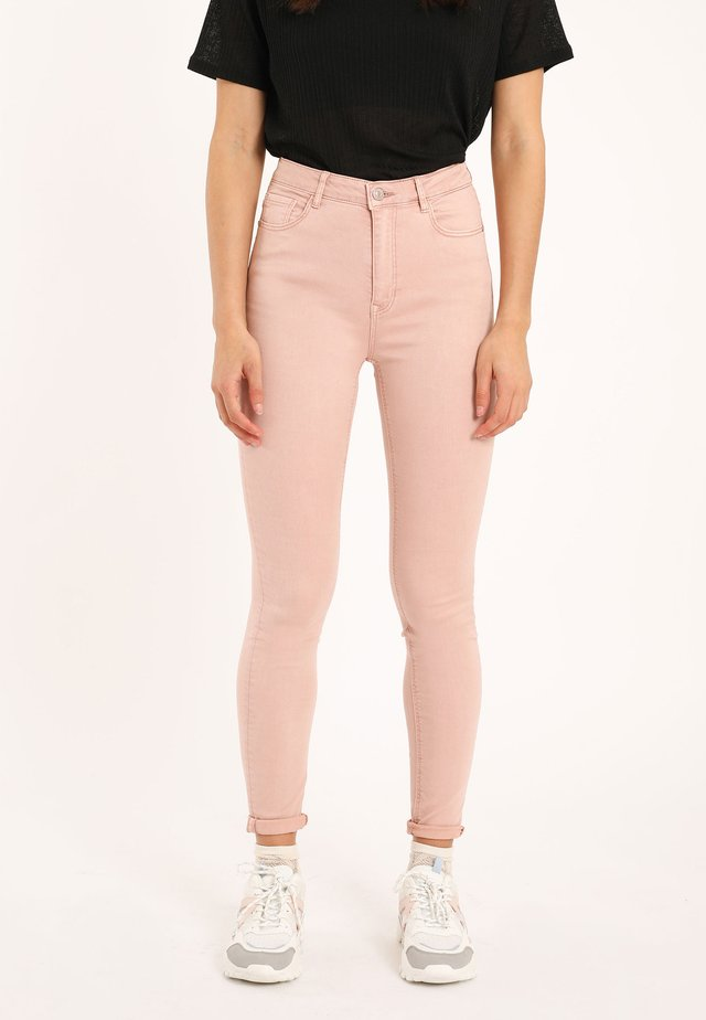 Jeans Skinny Fit - rosa