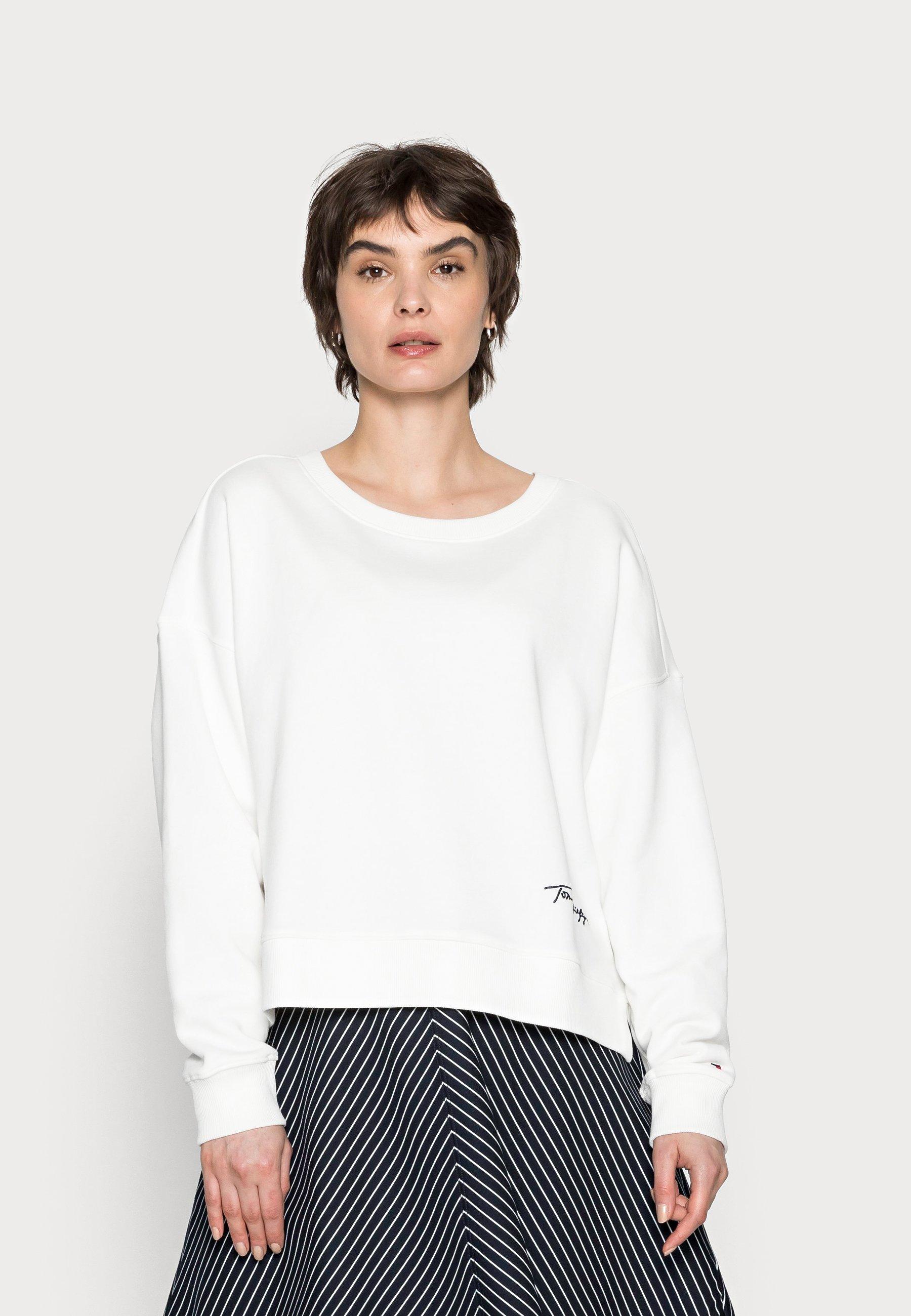 Women RELAXED SCRIPT OPEN - Sweatshirt