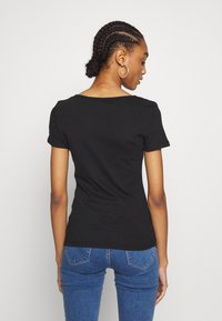 Levi's® - TEE 2 PACK - T-shirt basic - mineral black/mineral black - 2