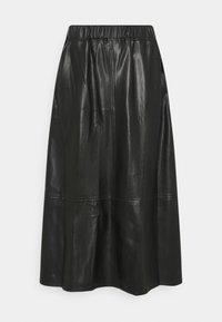 Marks & Spencer London - CIRCLE SKIRT - A-line skirt - black - 3