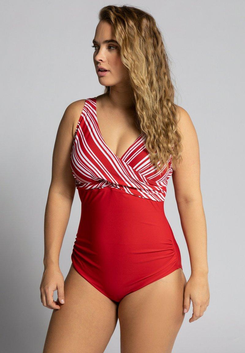 Ulla Popken - Swimsuit - salsa
