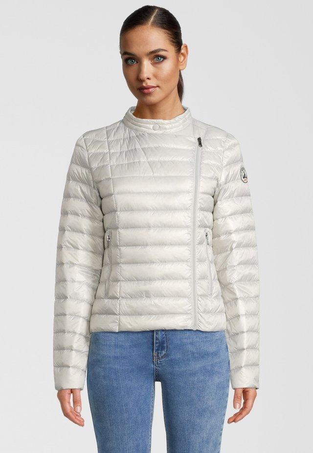 PERLE - Gewatteerde jas - grey