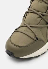 Puma - AXIS BOOT UNISEX - Lace-up ankle boots - burnt olive - 5