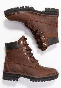 Timberland - LONDON SQUARE 6IN BOOT - Schnürstiefelette - mid brown - 3