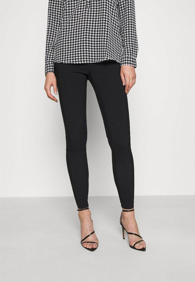 ZIP BENG SLIM LEG - Kalhoty - black