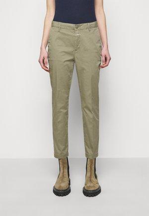 JACK - Chino kalhoty - green umber