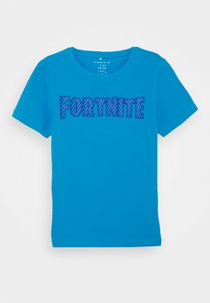 NKMFORTNITE - Print T-shirt - hawaiian ocean