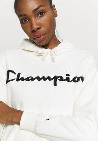 Champion - HOODED LEGACY - Huppari - off white - 4