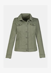 GINA LAURA - Denim jacket - khakigrün - 2