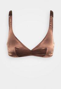 SUGAR - Triangle bra - swiss chocolate