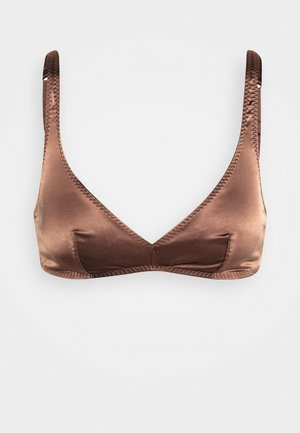 SUGAR - Triangle bra - swiss chocolate