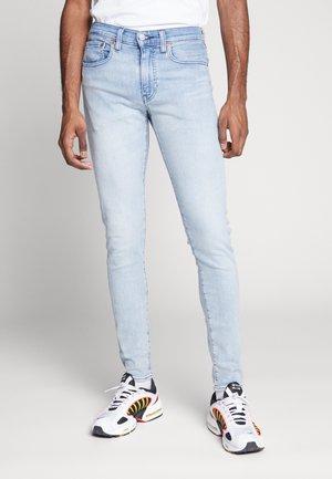 SKINNY TAPER - Skinny džíny - light-blue denim