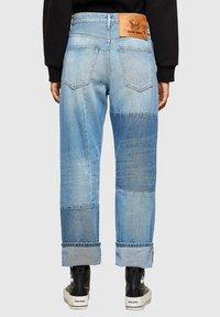 Diesel - Straight leg jeans - light blue - 2