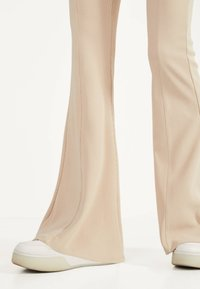 Bershka - Trousers - white - 3