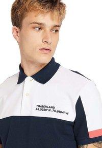 Timberland - MILLERS RIVER  - Polo shirt - dark sapphirewhite - 4