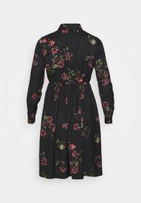 Vero Moda Petite - VMGALLIE DRESS - Shirt dress - black - 1